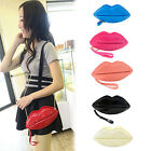 Cute Sexy Lips Shape Bag Charming Color Women's Fashion Accessory Coat of Paint