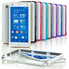LUXURY Ultra-thin Aluminum Metal Bumper Frame Case Cover For Sony Xperia Various