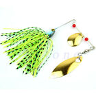 Mixed Color Plastic Spinner Fishing Lures Bass CrankBait Crank Bait Tackle Hook