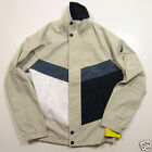 "Nautica Men's ""Sand Drift"" Color Block Bomber Polyester Jacket"