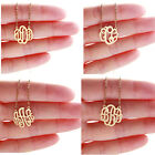 Women MONOGRAM INIGITAL NAME Necklace Girls Script Letter Pendant Charm Jewelry