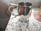 VINTAGE RETRO  ENGLISH VINERS ALPHA  SILVER PLATE ONE PINT ALE TANKARD
