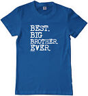Threadrock Boys Best Big Brother Ever Youth T-shirt Sibling Slogan Gift