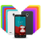 10 PACK SILICONE GEL CASE SKIN COVER FOR VODAFONE SMART PRIME 6 BLACK PURPLE RED