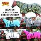 HILASON UV PROTECTION AIRFLOW MESH HORSE FLY SHEET W/ NECK COVER & BELLY WRAP