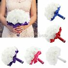 Colourfast Foam Roses Artificial Flower Home Decor Wedding Bride Bouquet Party