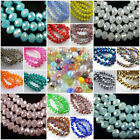 Kyпить Wholesale Glass Crystal Faceted Rondelle Spacer Loose Beads 3mm/4mm/6mm/8mm на еВаy.соm