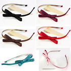 Lady Girl Women Cute Bowknot Bow Hairband Accessory Headband Head Band Clip