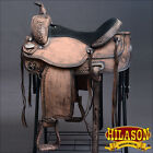 DF203RO HILASON WESTERN DRAFT HORSE TRAIL PLEASURE RIDING ENDURANCE SADDLE 16 17