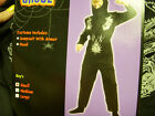 Ninja Black Silver Costume Dress-up NWT S M L