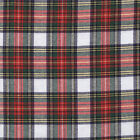 DRESS STEWART TARTAN 100% BRUSHED COTTON by the metre SHIRTING / FASHION CRAFT
