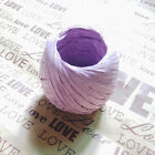 MCGL 20m Raffia Paper Ribbon Decorating Flowers Gifts Crafts Scrapbooks 11Colors