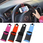 Universal Car Steering Wheel Clip Mount Stand Outlet Holder For Cell Smart Phone