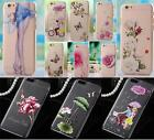 Multi Color Painting Crystal Diamond Polish Hard Case Cover for iPhone 5 5S 6