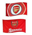 OFFICIAL ARSENAL FOOTBALL CLUB  FLAGS 5ft x 3ft