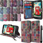 For LG Optimus L70 MS323 Flip Wallet LEATHER Skin POUCH Case Phone Cover + Pen