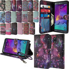 For Samsung Galaxy Note 4 N910 Flip Wallet LEATHER POUCH Case Phone Cover + Pen