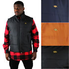 Rocawear Layer Up Faux Down Vest Reversible Outerwear