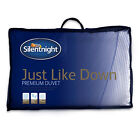 Silentnight Just Like Down Duvet / Quilt - 13.5 Tog - Single Double or King Size