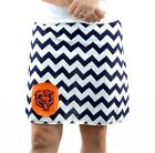 Chevron Chicago Bears Gameday A Line Striped Yoga Sports Women Skirt XS ~ XL