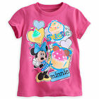 Disney Store Minnie Mouse Short Sleeve T Shirt Girl Size 5/6