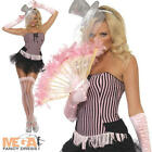 Burlesque Moulin Rouge Fancy Dress Party Ladies Costume