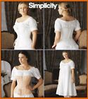 Sew & Make Simplicity 7215 SEWING PATTERN - CIVIL WAR CHEMISE CORSETS COSTUMES