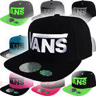 Vans Off The Wall Cap Logo Snap Back Hat Skate Style Skateboard Classic Patch