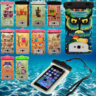 Cartoon Owl Waterproof Underwater Pouch Case Dry Bag For iPhone Samsung Sony HTC