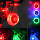 New Bicycle Bike Silicone Spoke Seat LED Rear Light Safety Night Cycling Lamp