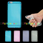 BACK SOFT GEL SLIM THIN LITHE CLEAR CASE COVER FOR IPHONE 6 / 6 PLUS / 5 5s & SE