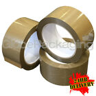 72 x Rolls Of KD HEAVY DUTY VINYL PVC Brown Packing Tape 48mm x 66M XX-STRONG