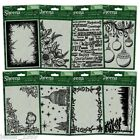 Sheena Douglass 2015  FESTIVE EMBOSSING FOLDERS  Christmas Cards  Free UK p&p