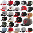 MITCHELL & NESS AND SNAPBACK CAP CHICAGO BULLS  BROOKLYN NETS LA KINGS CELTICS