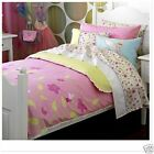 Freckles Fairy Garden Pink Lace Double Quilt Cover Set Cushion