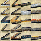pheasant feather fringe  trim for 19 +Colour Crafts/Costume/Sewing/Millinery