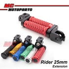 "M-Grip CNC 1"" Adjustable Riser Front Foot Pegs for Ducati DIAVEL 11 12 13 14 15"
