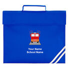 Personalised FIRE ENGINE School Book Bag Named School Academy Class QD456