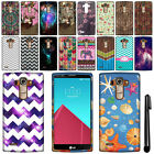 For LG G4 H815 F500 VS986 H810 Cute Design TPU SILICONE Rubber Case Cover + Pen