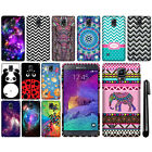 For Samsung Galaxy Note 4 N910 Cute Design TPU SILICONE Rubber Case Cover + Pen