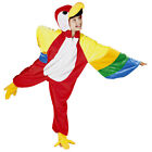 BOYS GIRLS KIDS PARROT COSTUME RIO FUNNY BIRD FULL PLUSH FANCY DRESS OUTFIT NEW