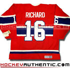 HENRI RICHARD MONTREAL CANADIENS 1973 JERSEY CCM VINTAGE RED