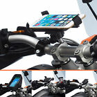 Motorcycle Handlebar Clamp Bolt Mount + Universal Holder for Apple iPhone 6 4.7
