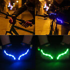 Unisex Outdoor Bicycle Sport LED Half Finger Glow Gloves Cycling Glow Gloves New