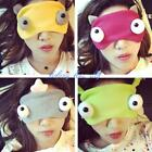 Cute 3D Monster Design Mask Big Eye Shade For Travel Sleep Rest Children Gift LD
