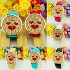 2015 Fashion Casual Watch Womens Number Dial Vintage Leather Quartz Wrist Watch
