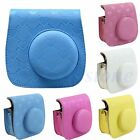 Love Heart Leather Camera Case Bag Cover For Fuji Fujifilm Instax Mini 8 Mini8s