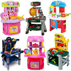'Childrens Kids Power Tools Work Bench Kitchen Cooking Creative Role Play Toys