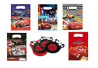 6 PARTY LOOT BAGS - Range of DISNEY CARS Designs (Kids/Birthday/Gift)