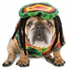 Zelda Wisdom Rasta Hippie Dog Pet Costume 70s Halloween Jamaican Dreadlocks Tam